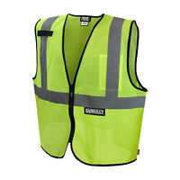 DEWALT DSV220 Class 2   Safety Vest, ANSI/ ISEA 107-2010