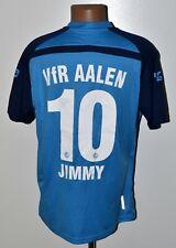 VFR AALEN GERMANY 2010'S MATCH WORN SIGNED FOOTBALL SHIRT SALLER #10 JIMMY