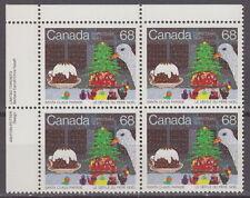 CANADA #1069 68¢ Santa Claus Parade UL Inscription Block MNH