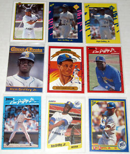 Ken Griffey Jr. U-Pick w/Base Cards, Second 2nd Year, Topps, $.99 Shipping!