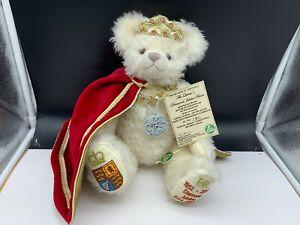 Hermann Teddy Bear 14 3/16in Limited Unbespielt. Top Zustand