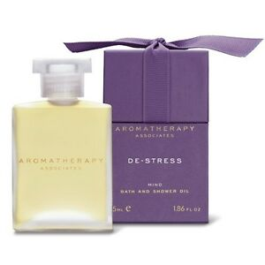 1 PC Aromatherapy Associates De-Stress Mind Bath Shower Oil 55ml Relaxing