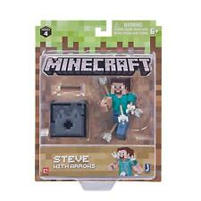 Minecraft Steve With Arrows Action Figure Series 4 Toy