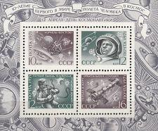SU / CCCP Nr. Bl. 69** (3871-3874**) Kosmonauten Gagarin u. Leonow