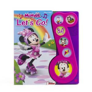 Disney® Minnie Let's Go (Disney Minnie: Play-a-Song) - Board book - GOOD