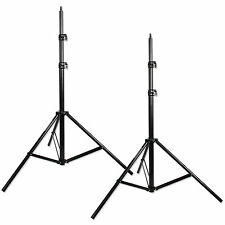 Photographic Light Stands Set of Two 7.5ft