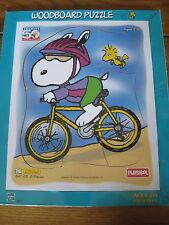 MIP 1999 Peanuts 50th CELEBRATION Snoopy WOODBOARD Playskool PUZZLE