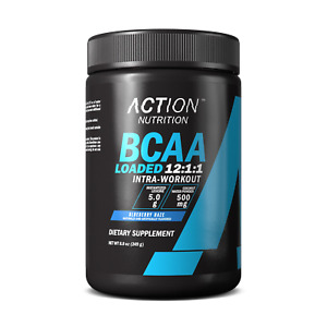 BCAA LOADED 12:1:1 BCAA Ratio, 5g Leucine and Electrolytes - 30 Servings!
