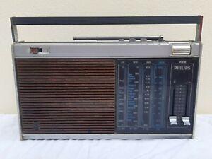 Philips 425 Ancien Vintage Poste Radio Transistor - LIRE ANNONCE