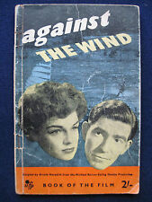 AGAINST THE WIND Vintage Photoplay of SIMONE SIGNORET / JACK WARNER Film