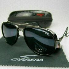 New Vintage Steampunk Sunglasses Mens Round UV400 Sunglasses With Box