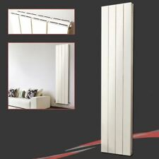 "375mm(w) x 1800mm(h) ""Flow"" Latte Vertical DOUBLE Aluminium Radiator 5736 BTUs"