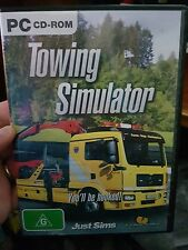 Towing simulator -  PC GAME - FREE POST