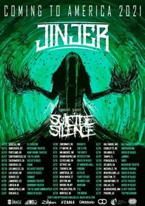 Jinjer - Tour 2021 Posters | Unframed Premium Paper Posters