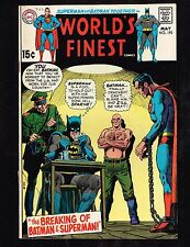 World's Finest #193 ~ The Breaking of Superman & Batman (1970) ~~ (5.0) WH