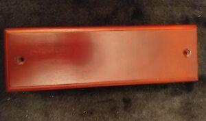 "TPG - Brainerd Hardware Single Cherry Wood Wall Rack for Hat & Coat 54499 9"""