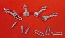On3/On30 WISEMAN PARTS #O262 LINK & PIN COUPLERS, FIT BACHMANN PORTERS/SHAYS ETC