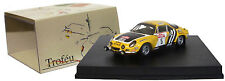 Trofeu 818 Alpine Renault A110 3rd San Remo Rally 1975 - J L Therier 1/43 Scale