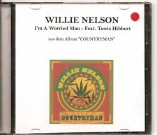 WILLIE NELSON I'M A Worried Man GERMAN PROMO ACETATE CD