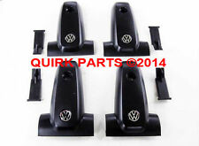 00-04 VW Volkswagen Jetta Golf Replacement Roof Rack End Caps Set of 4 OEM NEW
