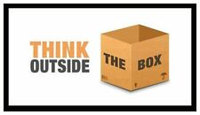 Fridge Magnet: THINK OUTSIDE THE BOX