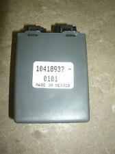 00 GRAND PRIX 3.8L COMPUTER MODULE 10418937-0101