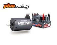 Team Orion Neon 8 sans balai 1/8th etanche moteur & Speedo Combo 2100 kV 66095