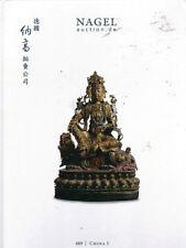 NAGEL CHINESE ART CERAMICS BRONZE BUDDHAS JADES PAINTINGS FURNITURE Catalog 12-1