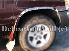 Chrome Stainless Steel Fender Trims FOR 2005-2011 Dodge Dakota W/Mudflaps
