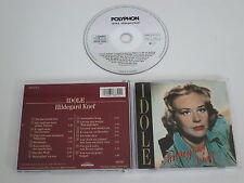 HILDEGARD KNEF/IDOLE(POLYPHON 816 879-2) CD ALBUM