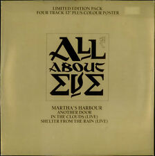 """All About Eve Martha's Harbour Limited Box - UK 12"""" WITH poster"""
