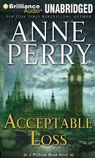 ACCEPTABLE LOSS unabridged audio book on CD by ANNE PERRY - Brand New! 12 Hours!