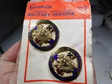 Post WWII VINTAGE 104th Cavalry US Army DIs Di Gemsco