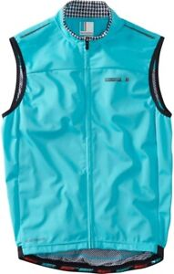 Madison Road Race WindTech Mens Cycling Gilet - Blue