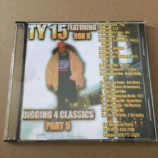 DJ RON G TY 15 Diggin For The Classics #5 NYC Mixtape CD MIX