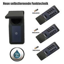 3er FUNKSTECKDOSEN,Steckdosen Schuko Zwischenstecker Fernbedienung 2300 Watt