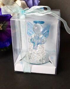 12PC-Communion Angel Cross Crystal Party Favors Baptism Recuerdos Confirmation