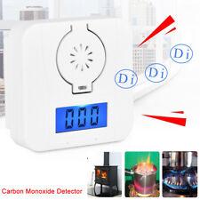 CO Smoke Detector LCD Screen Monoxide Mini Alarm Poisoning Gas Warning Sensor 3V