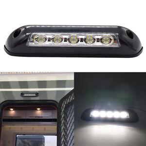 12V RV LED Awning Porch Light Lamps Bar for Motorhome Caravan RV Van Camper