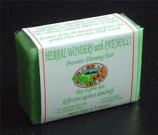 30% OFF -  1 BIG PATCHOULI Hair Loss Hair Growth Herbal Soap Organic