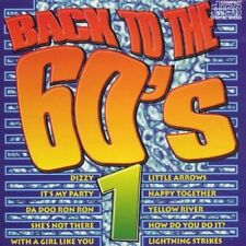 Back into the 60's 1 Edison Lighthouse, Troggs, Lou Christie, Foundations.. [CD]
