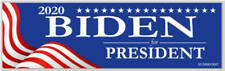 Joe Biden For President 2020 Red White Blue Bumper Sticker