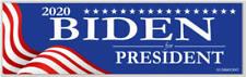 Joe Biden For President 2020 Red White Blue Bumper Sticker