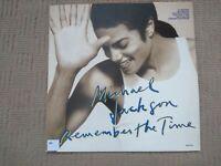 "MICHAEL JACKSON REMEMBER THE TIME 1992 12"" MAXI SINGLE ORIGINAL VINYL UK RELEASE"