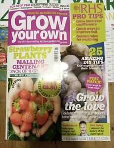 Grow your Own magazine February 2021 with Year Planner