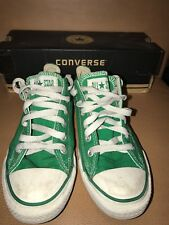 947f122cc6 Converse Chuck Taylor Low Tops Men 6 Women 8 Green 70s Classic