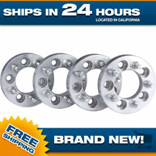 5x114.3 Wheel Spacers Adapters 38mm thick 12x1.5 studs 5 lug bolt spacer hub 4pc
