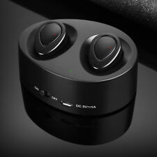 Mini TWS K2 Wireless Bluetooth Stereo Headset Earphones Earbuds Headphone In-ear Black