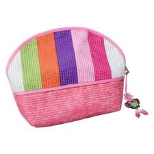 Cosmetic Pouch pink/ Korean traditional pattern/ Korea souvenir gift