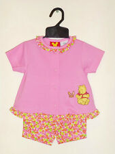 Girls sz 1 (12m) Winnie The Pooh Top & Shorts Set Pink CUTE Genuine Disney Brand